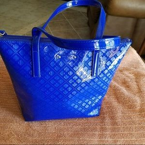 Kate Spade Cobalt Blue Patent Leather Tote